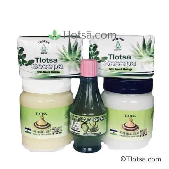 Tlotsa Combo (with 2 Tlotsa soaps)