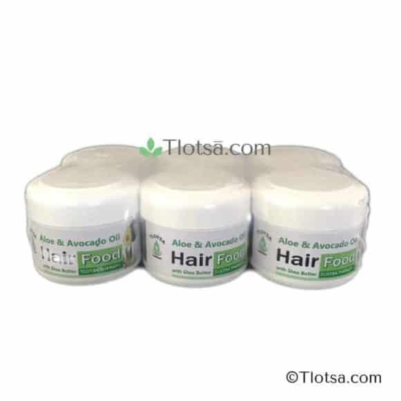 6 x 125g Tlotsa Hair Food