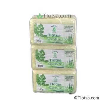 6 x 160g Tlotsa Soap (Sesepa) 1