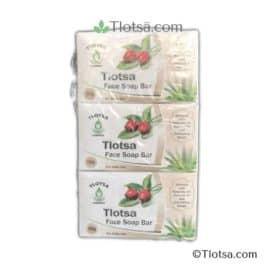 6 x 160g Tlotsa Face Soap Bar