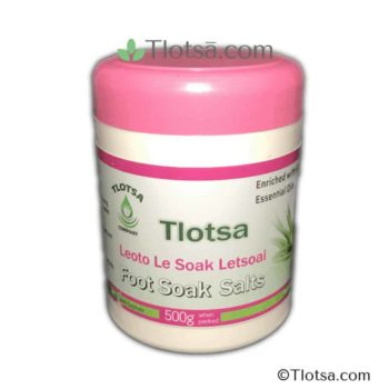 500g Tlotsa Foot Soak Salts 1