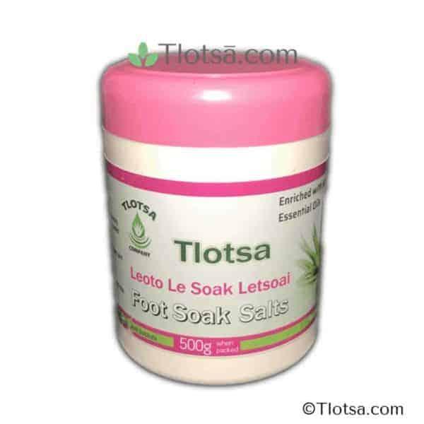 Tlotsa Foot Soak Salts