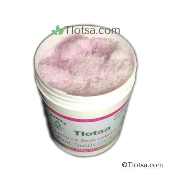 Tlotsa Foot Soak Salts Inside