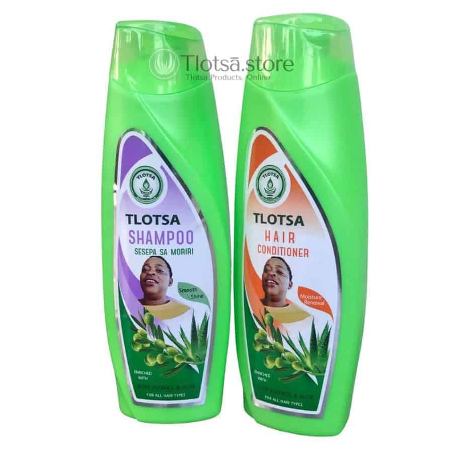 Tlotsa Shampo and Conditioner